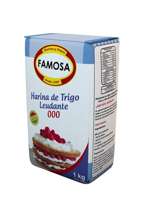 Harina de Trigo Leudante 000